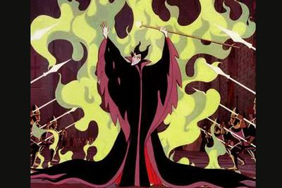 The Brothers Grimm were indeed grim, and this Disney adaptation of that classic fairytale has its scary moments. Wicked witch Maleficent is one of Disney's most malevolent villains, hence the name. She curses princess Aurora to slumber, creates a forest of thorns to keep the prince away from Aurora, and ends up morphing into a dragon and making all hell literally break loose.