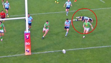 Raiders book ticket to NRL semi finals after contentious call