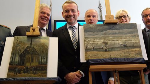 Two Vincent Van Gogh paintings have been recovered after going missing for 14 years. (AFP)