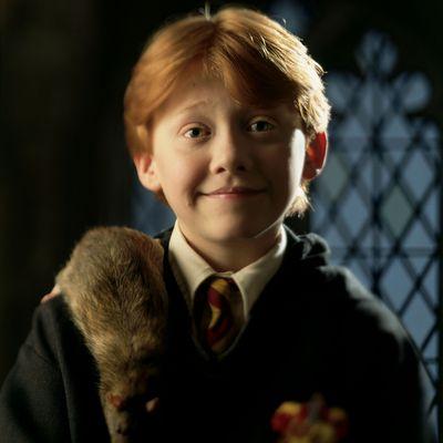 Ron Weasley: Then
