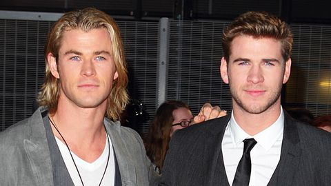 Christ and Liam Hemsworth