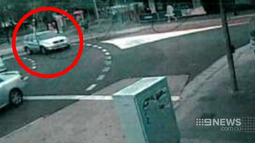 The killer was caught on CCTV, helping detectives pinpoint his movements on the day his mother was murdered. (9NEWS)