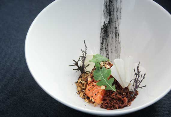 Matthew McCool's Norwegian salmon