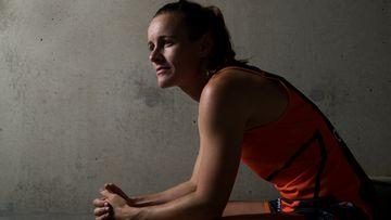 Greater Western Sydney Giants player, Alicia Eva.
