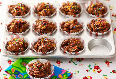 Chocolate and fruit crackles