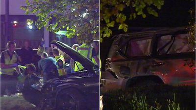 'Teen driver' kills two in hit-run crash involving stolen SUV