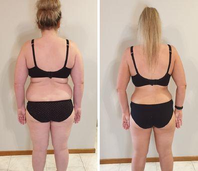 Brooke weight loss behind