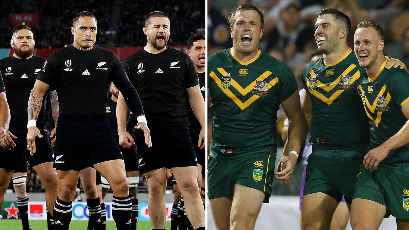 All Blacks, Kangaroos