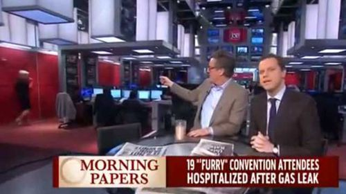 MSNBC host lost her composure and ran off set after reading an unusual headline