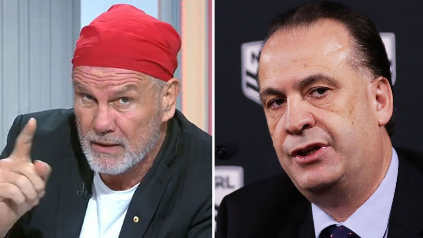 EXCLUSIVE: Peter FitzSimons' fears Peter V'landys will get his way over crowds