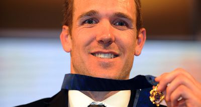 Collingwood's Dane Swan won the Brownlow Medal in 2011 with a record 34 votes. (AAP)