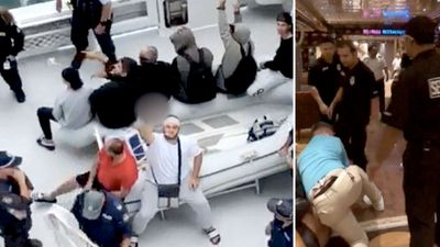Passengers slam 'unacceptable' compo after cruise brawl