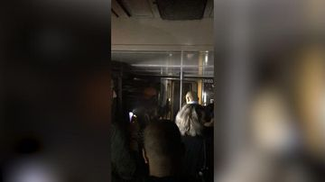Passengers flee into subway tunnel after NY derailment
