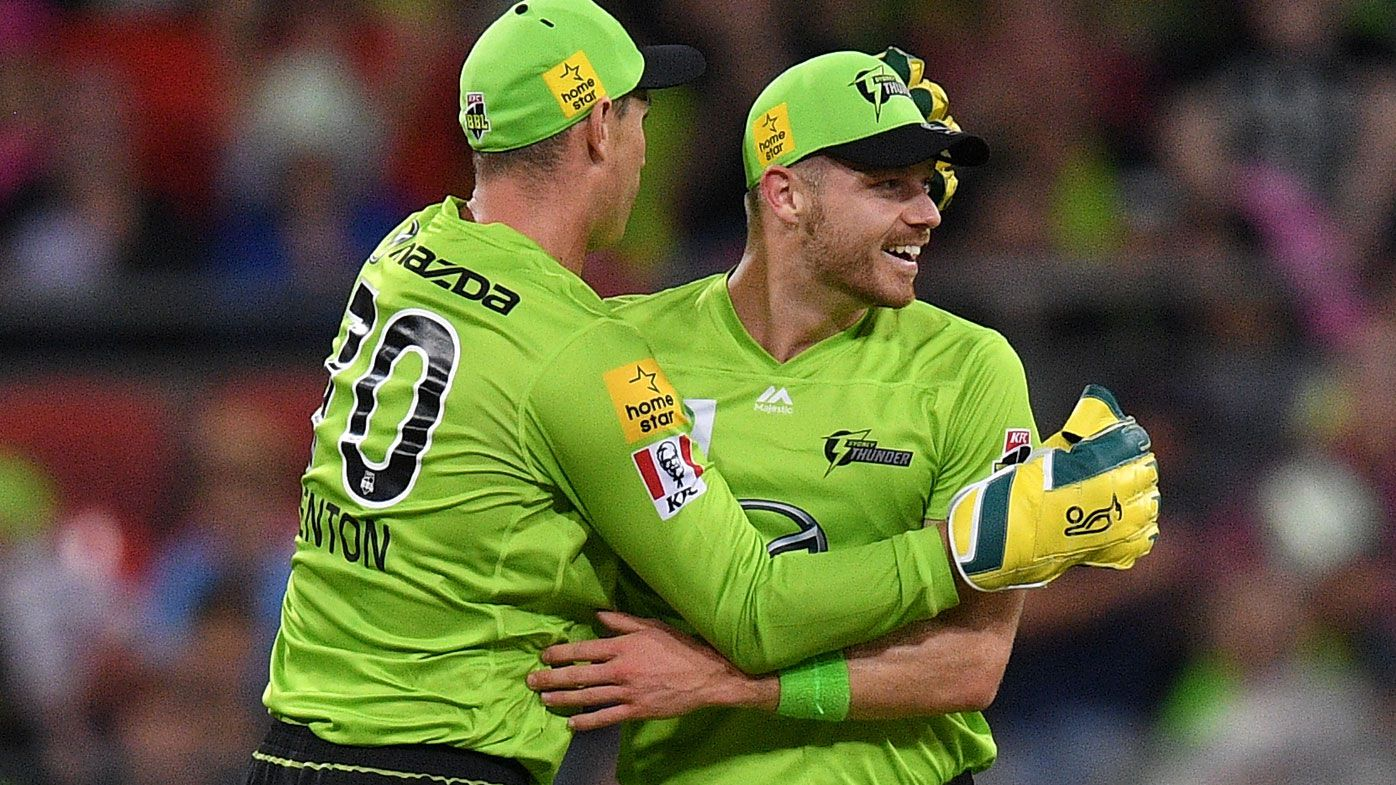 Sydney Thunder win rain-affected BBL derby over sloppy Sixers