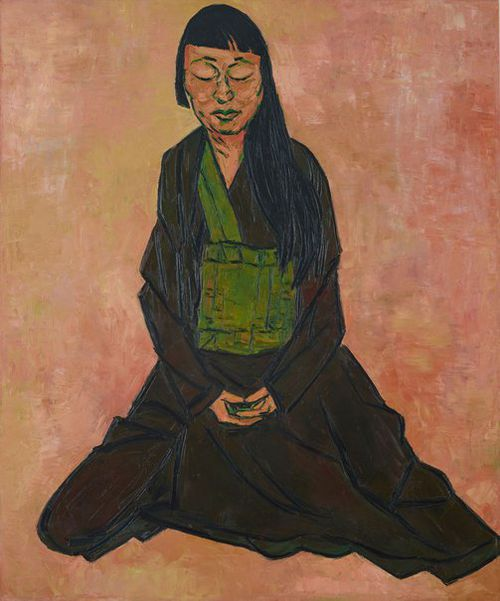 Artist Tony Costa has taken out the 2019 Archibald Prize for his portrait of Buddhist artist Lindy Lee.