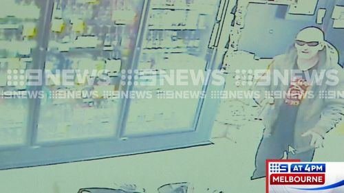 Steven Kilpatrick, 39, is accused of committing a string of armed robberies south-west of Melbourne. Picture: 9NEWS.