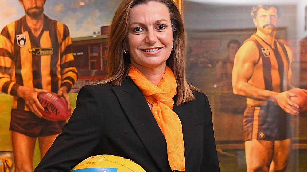 Hawthorn Hawks sack first female chief executive Tracey Gaudry after just five months