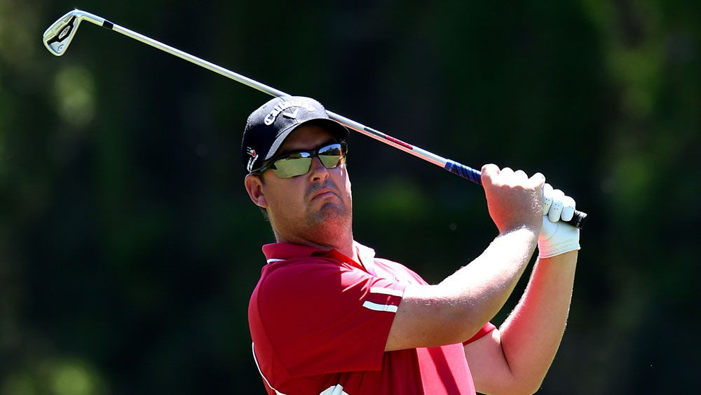 Ashley Hall is looking good after two rounds of the Australian PGA Championship. (AAP)