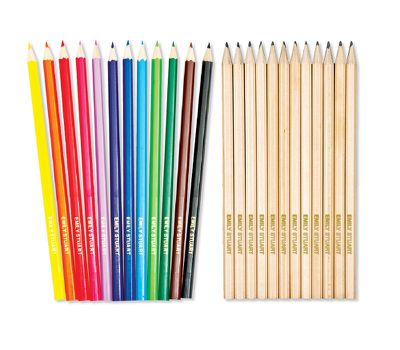 A personalised pencil set just for you - that the kids aren't allowed to borrow.