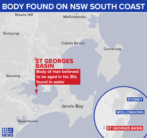 Body of a man found floating in water behind a house on the NSW South Coast