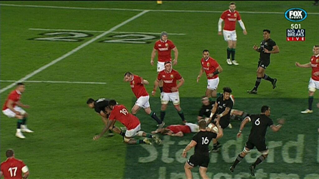 Changed decision denies All Blacks