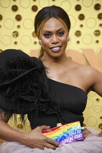 LOS ANGELES, CALIFORNIA - SEPTEMBER 22: Laverne Cox attends the 71st Emmy Awards at Microsoft Theater on September 22, 2019 in Los Angeles, California. (Photo by Frazer Harrison/Getty Images)