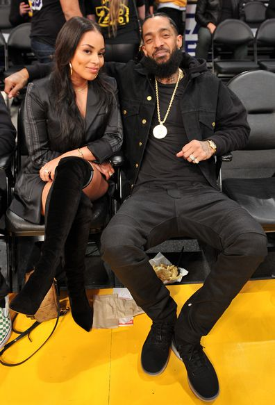 Nipsey Hussle and Lauren London