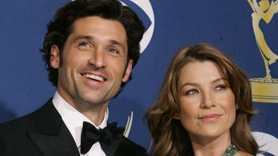 Patrick Dempsey and Ellen Pompeo in 2005.