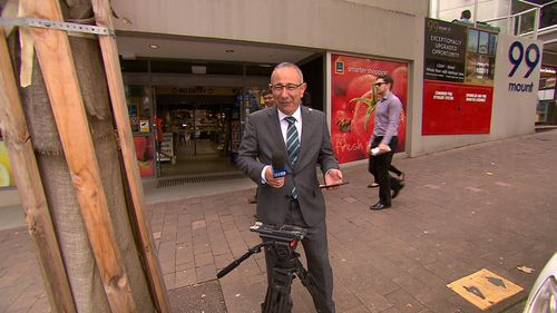 """Meyer said it's """"just the perils of the job"""". (9NEWS)"""