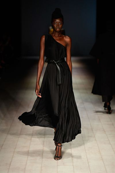 "<p>Tome have drawn upon the life and style of the late entertainer Nina Simone. The singer's legacy was present in everything from the voluminous jumpsuits, the turban headwear to the diamond studded eye make-up. </p> <p>For the collection, Tome have also embraced the see buy wear runway model with <a href=""http://shop.tomenyc.com/"" target=""_self"">the collection available to shop online now</a>.</p>"