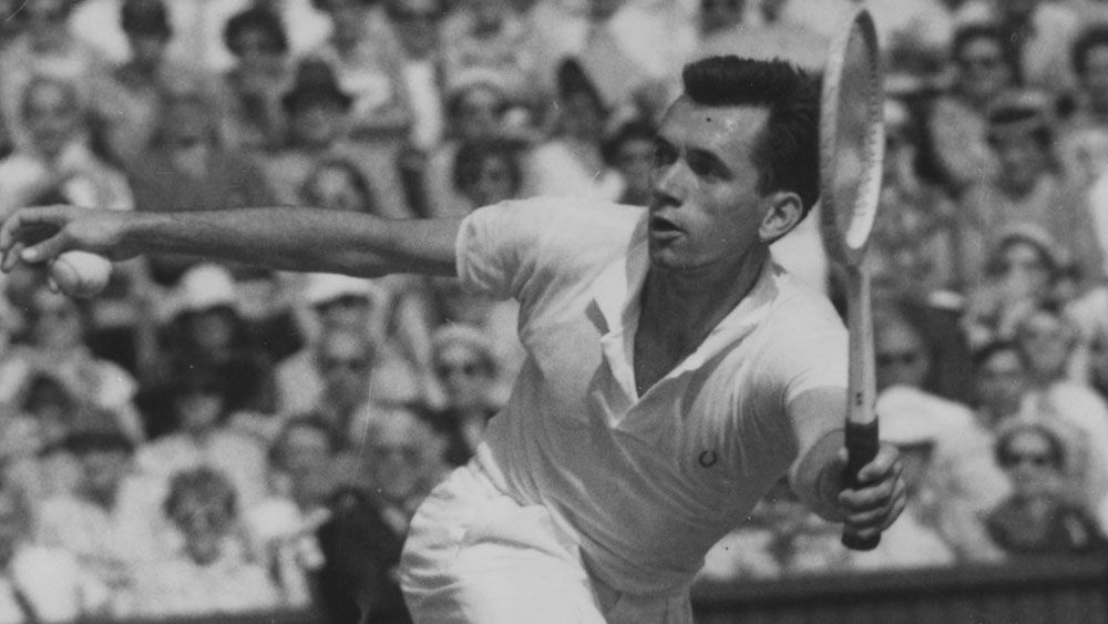Tennis world mourns death of Australian legend Mervyn Rose aged 87