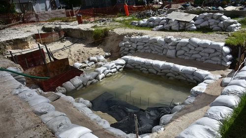 A nonprofit organisation that searches for the remains of US servicemen lost in past conflicts has found what officials believe are the graves of more than 30 Marines and sailors killed in one of the bloodiest battles of World War II.