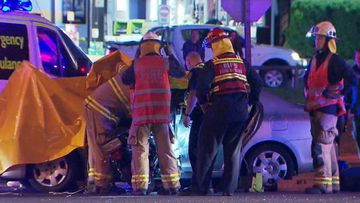 Young men killed in two-vehicle crash in Adelaide