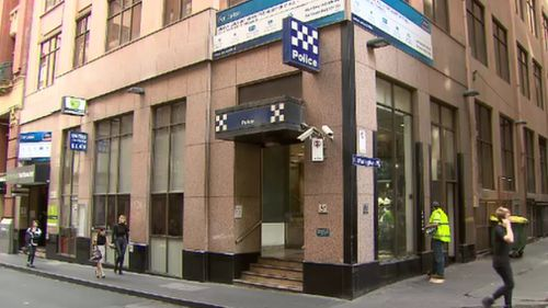 Melbourne East police station will be replaced with a new station. (9NEWS)