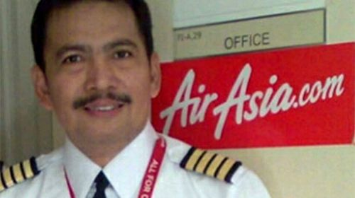 Son of AirAsia pilot unaware of crash