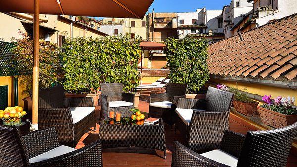 Rooftop terrace (Hotel Santa Maria)