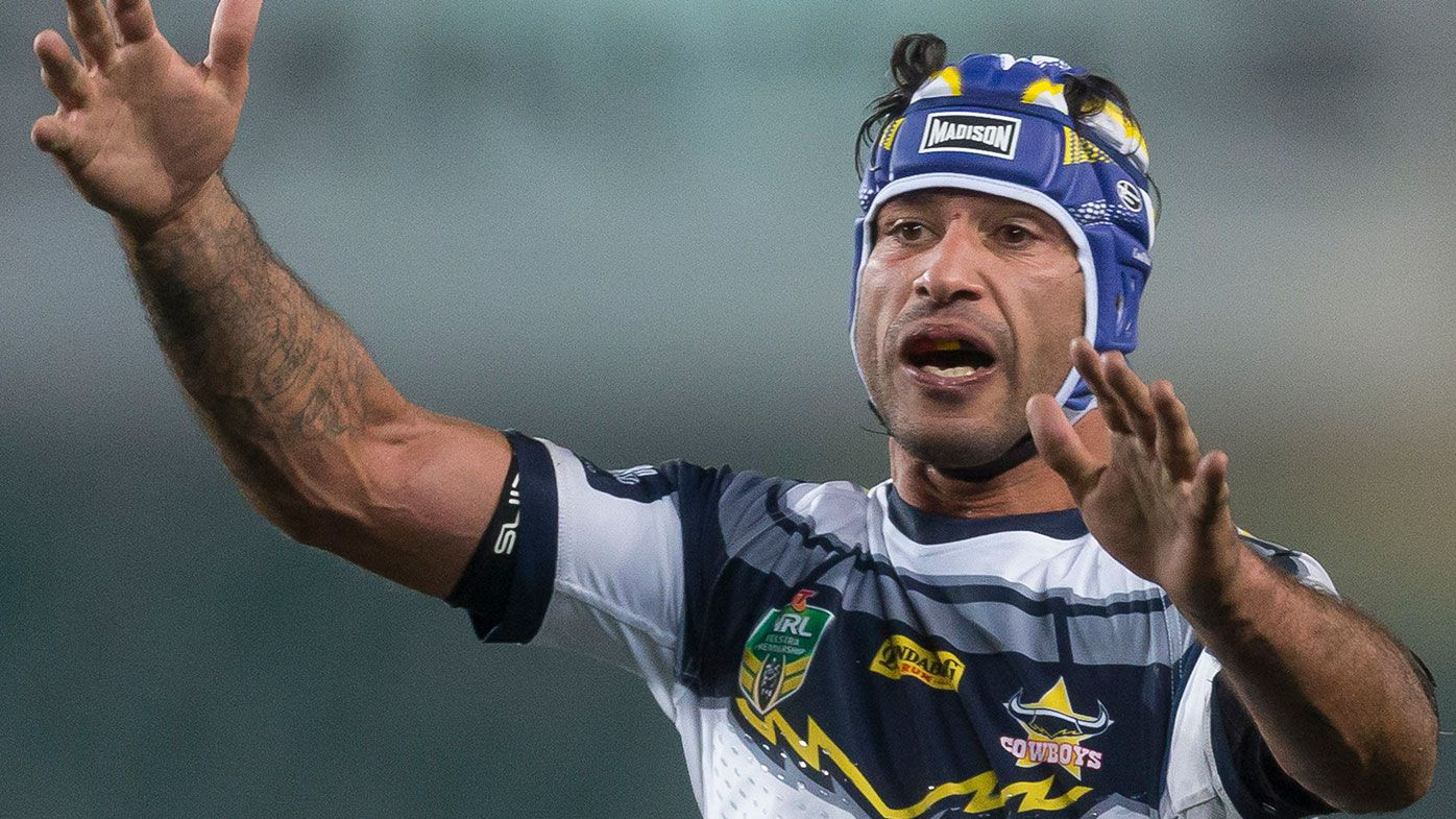 JT says last NRL season mentally tough