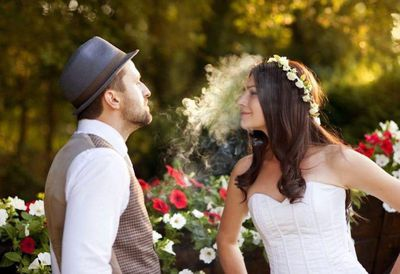 Weed weddings