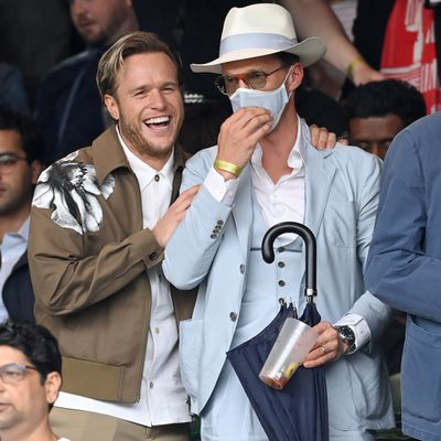 Olly Murs and Benedict Cumberbatch