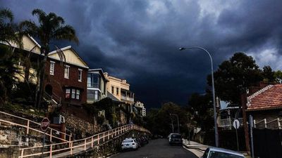 Metropolitan Sydney, Gosford, Penrith, Parramatta, Wollongong and Campbelltown were all affected. (Matt Carmichael)