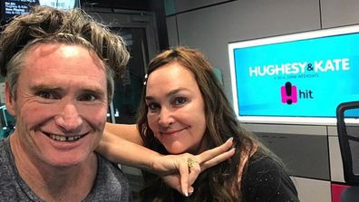 Dave Hughes, Kate Langbroek, Hughesy & Kate, radio station, selfie