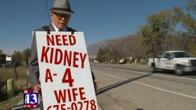 'Need kidney': Elderly man's mission to find donor for his wife