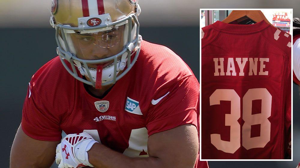 Hayne still high on NFL merchandise list