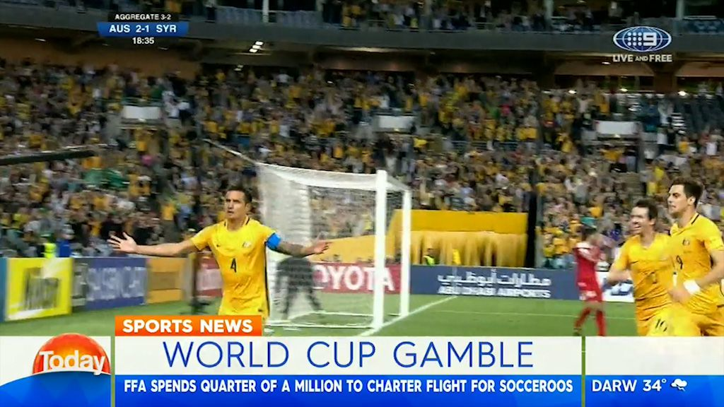 FFA goes all out for Socceroos