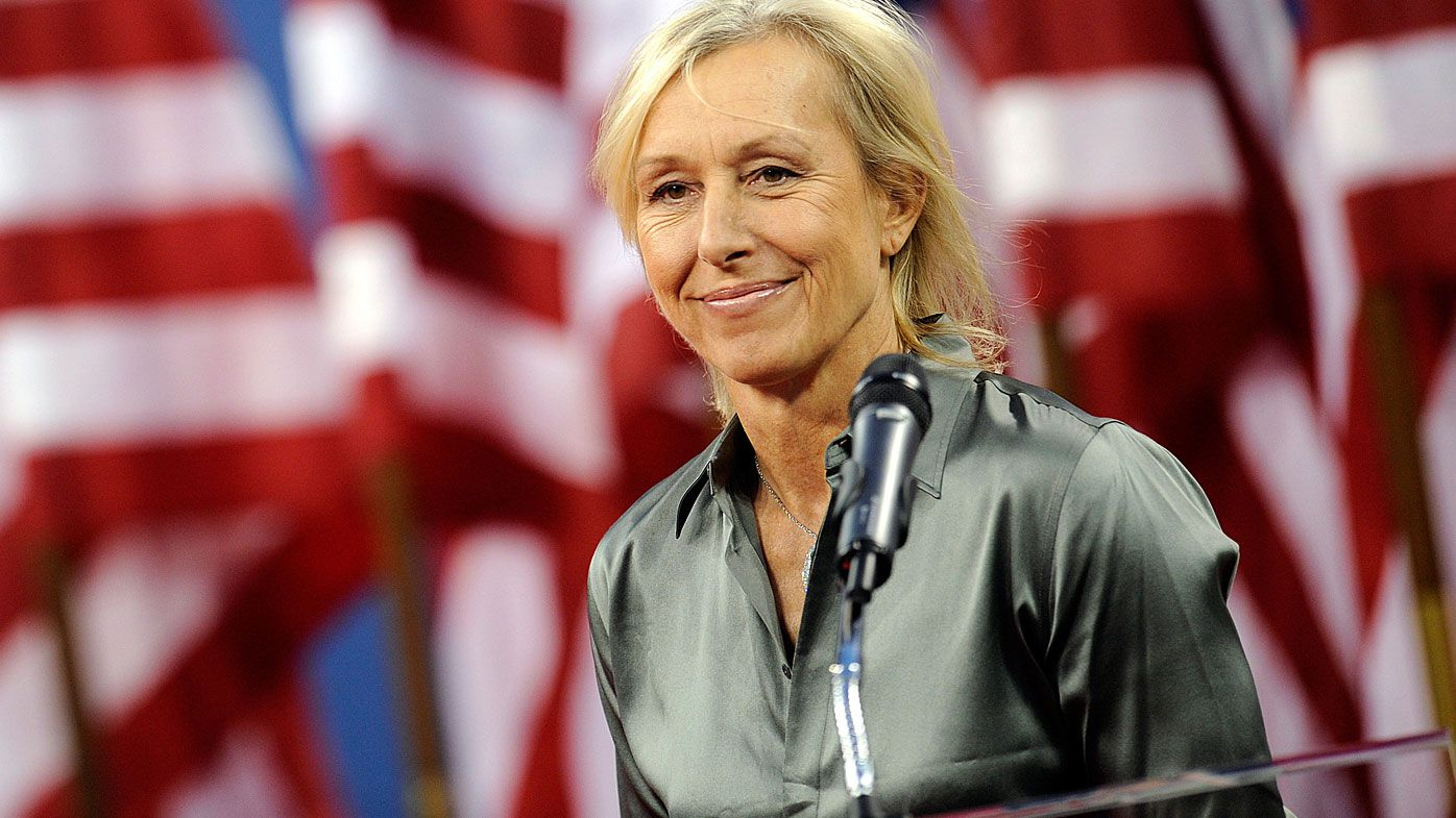 Tennis legend Martina Navratilova criticised for 'cheating' comments about transgender athletes