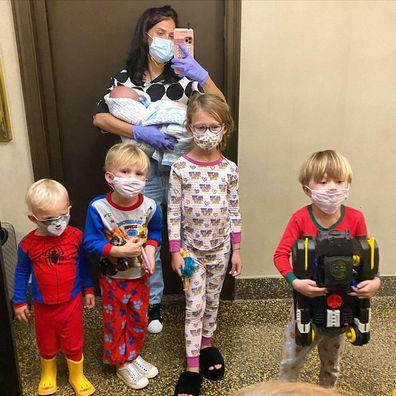 Alec Baldwin, wife Hilaria Baldwin, kids, family, coronavirus, quarantine
