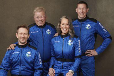 Chris Boshuizen, William Shatner, Audrey Powers and Glen de Vries