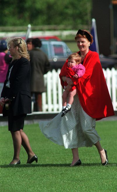 Princess Eugenie, 23 March 1990