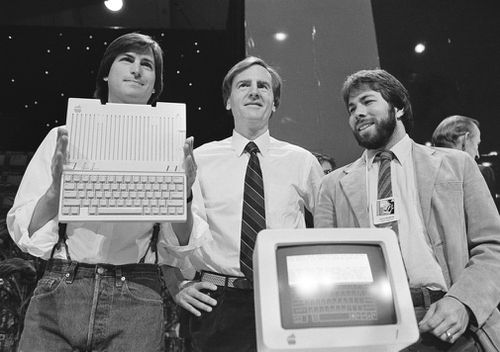 The milestone marks the financial fruit of stylish technology that has redefined society since two mavericks named Steve started the company 42 years ago. Picture: AAP