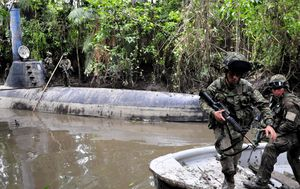 Sophisticated drug cartel submarine capable of carrying six tonnes of cocaine seized
